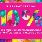 Peek & Cloppenburg*: 10% auf Alles im BirthdaySpecial