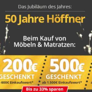 Höffner Bis Zu 33 Rabatt Auf Möbel Matratzen Monsterdealzde