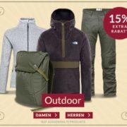 Engelhorn: 15% Extra-Rabatt auf Outdoor