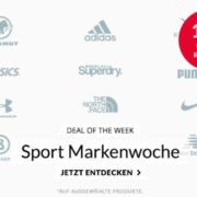 Engelhorn Sport: 15% Extra-Rabatt auf Sportmarken