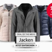 Engelhorn: 15% Extra-Rabatt auf Jacken