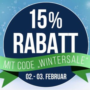 Koffer Direkt: 15% Rabatt im Winter Sale  