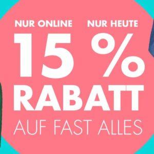 Galeria Kaufhof: 15% Rabatt auf fast Alles |