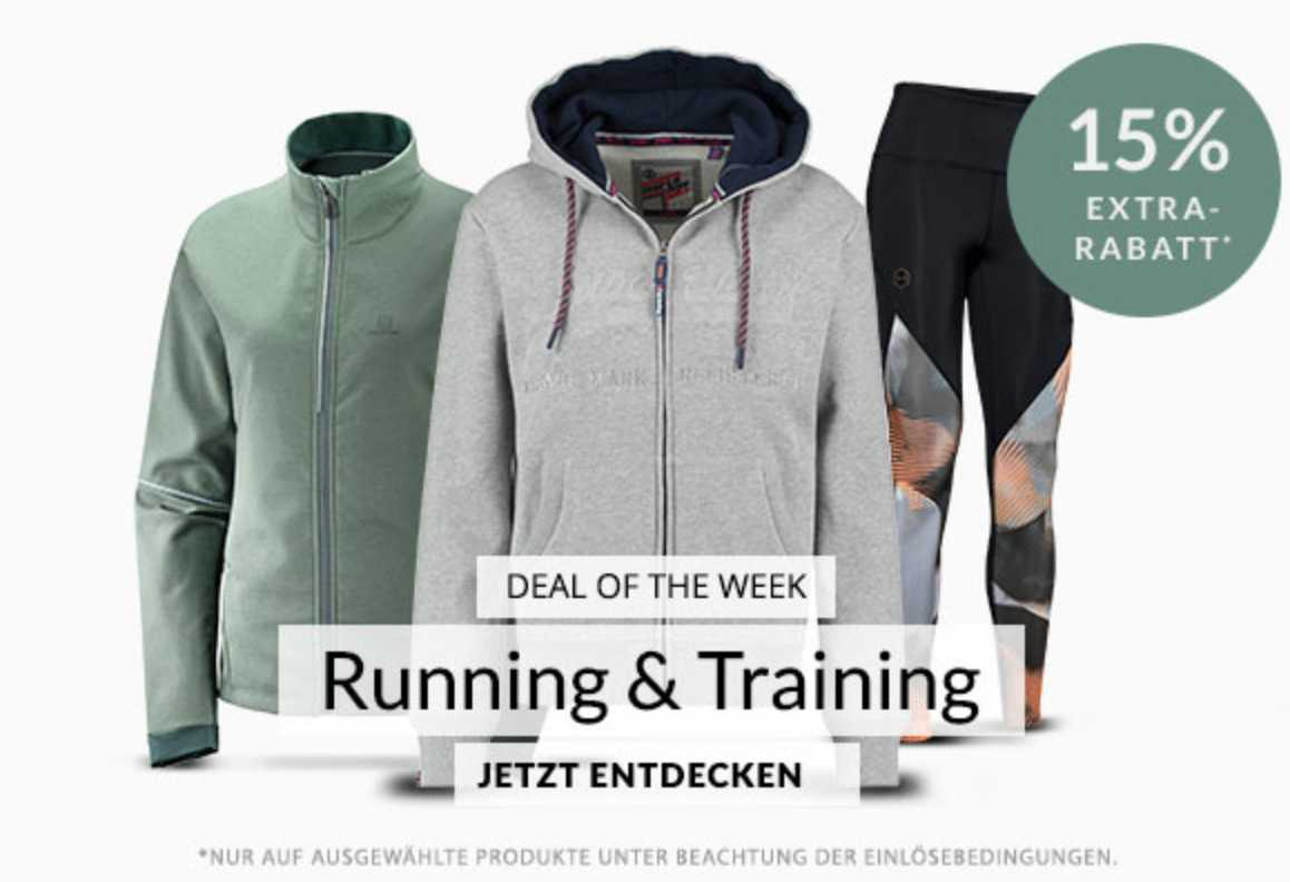 Engelhorn Sports: 15% Extra Rabatt auf Running & Training