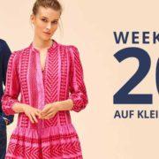 Peek & Cloppenburg*: 20% Extra-Rabatt auf Kleider und Anzüge