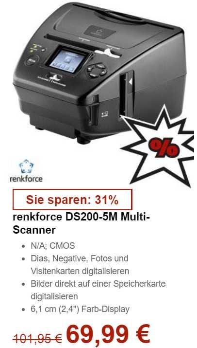 Conrad Multi Scanner Dia Negativ Foto 69 99