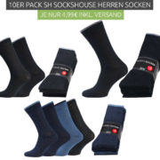Versch. 10er Packs SH SOCKSHOUSE Business-Socken