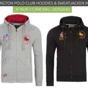 Huntington Polo Club Zip Hoodies - Outlet46