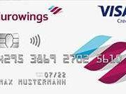 Eurowings-Kreditkarte mit 50€ Guthaben + 5.000 Meilen