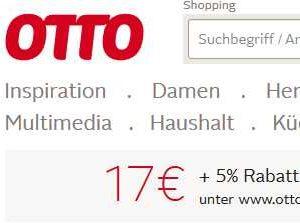 Otto Neukunde 17 Euro Plus 5 Rabatt Monsterdealzde