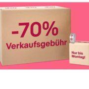 -70% Verkaufgebühren bei ebay