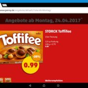 Toffifee 99 ct. und Kerrygold 1.49€ bei Penny
