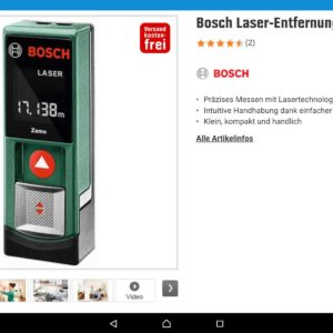 bosch laser entfernungsmesser zamo. Black Bedroom Furniture Sets. Home Design Ideas