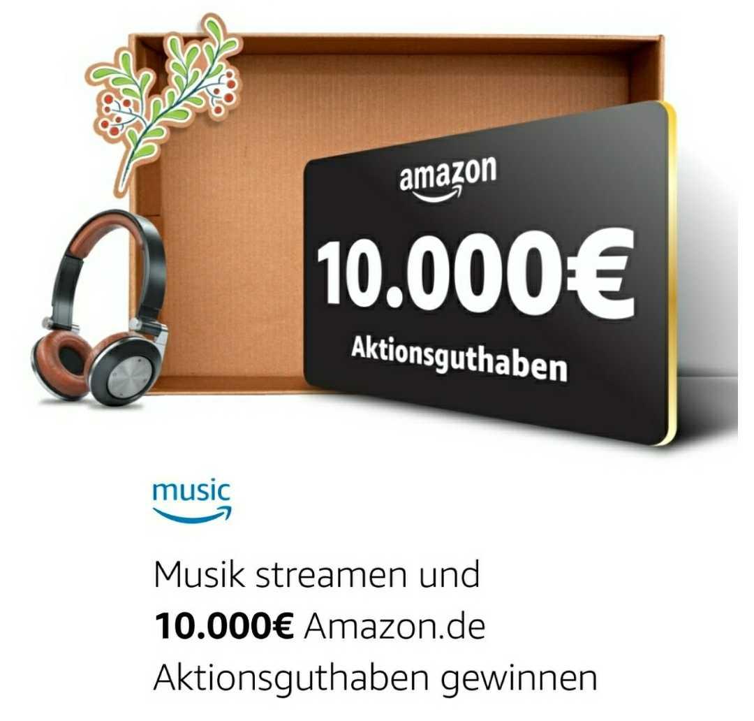 Amazon prime music gewinnspiel 10000