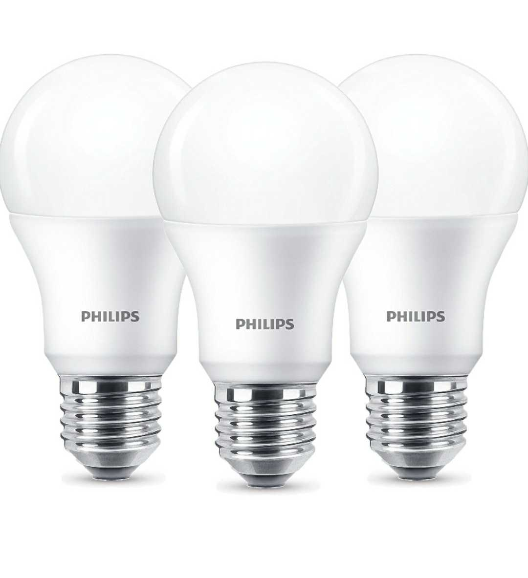 Amazon tagesangebot 3x philips led lampen warmwei 2700 for Lampen 5000 kelvin