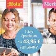 Babbel-Sprachkurse - 13 Sprachen per App oder im Web bei Tchibo für 43,95 € statt 59,40 €