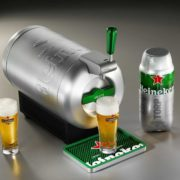 """Bierzapfanlage """"THE SUB Heineken Edition"""" für 89€ (statt 149€)"""