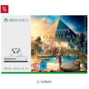 *KNALLER* Xbox One S 500 GB + AC: Origins + Star Wars Battlefront 2
