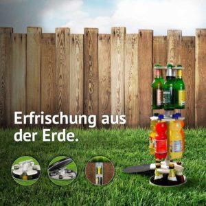 Easymaxx Flaschenkühler Kühlschrank 15 Flaschen Garten Outdoor Boden