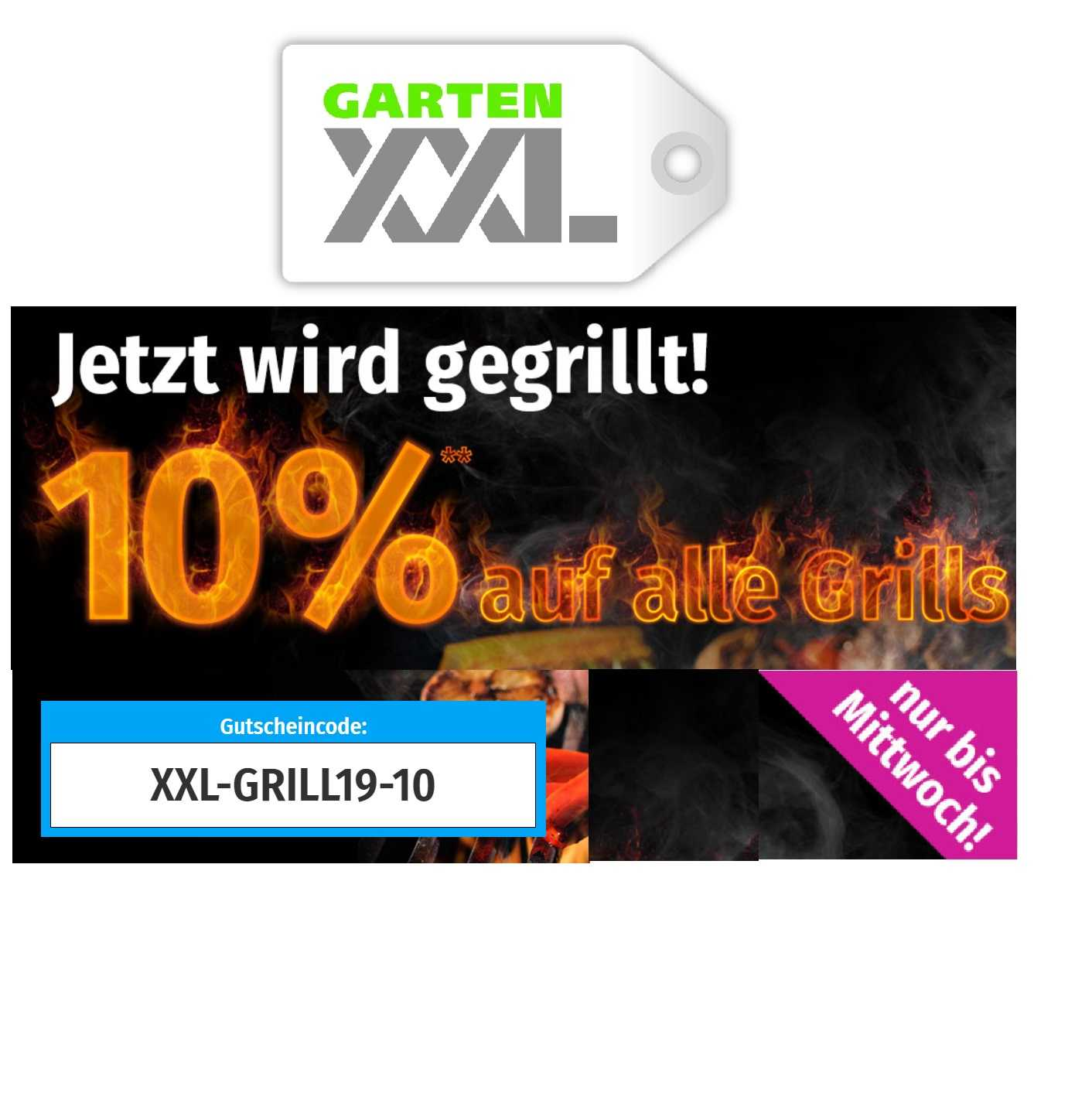 Garten Xxl Jetzt 10 Rabatt Auf Alle Grills Monsterdealzde