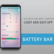 Gratis Android: Battery Bar - Energy Bar,  Power Bar [Statt: 0,59€]