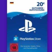 20€ Playstation-Guthaben für 15,59€ (PSN Deutschland