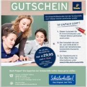 Gutschein für 8 Unterrichtsstunden für 29,95 € + 1 Monat Online-LernCenter gratis statt 78,60 €