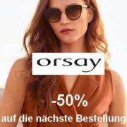 *GUTSCHEINFEHLER?!* *ENDET HEUTE* 50% Rabatt auf alles bei Orsay