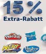mytoys - 15% Extra Rabatt auf die Marke Hasbro