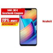 HONOR Play 64 GB Violett Dual SIM für 278,46€ (statt 307€)