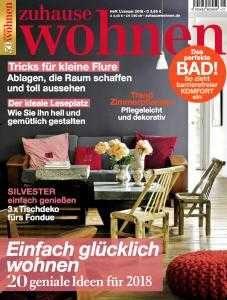 Zeitschrift Zuhause Wohnen jahresabo der zeitschrift zuhause wohnen effektiv gratis durch 35