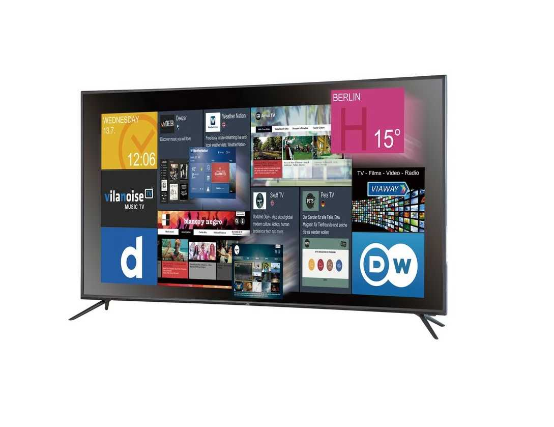 jtc galaxis 6 5 uhd 4k fernseher 65 zoll smart tv f r 613 90 inkl versand. Black Bedroom Furniture Sets. Home Design Ideas