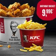 KFC Birthday Bucket Fur 999EUR MonsterDealzde