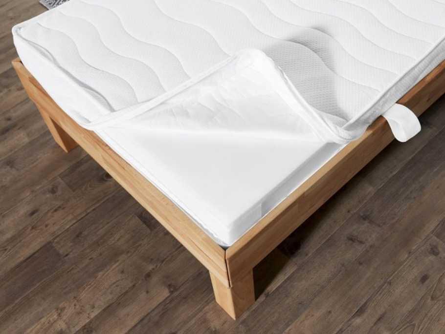 lidl 7 zonen tonnentaschen federkernmatratze. Black Bedroom Furniture Sets. Home Design Ideas