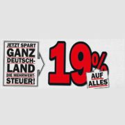 Media Markt/Saturn: 19% Mehrwertsteuern geschenkt