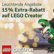 myToys: 15% Extra auf LEGO Creator