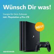 Neuvertrag bei Sparstrom inkl. PS4 Pro 1TB