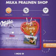Oktoberfest-Pralinen im Milka-Shop
