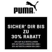 Puma: Go Big. Save Big - Bis zu 30% Rabatt auf Alles!