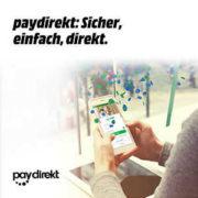Rakuten: 10€ Rabatt bei Zahlung mit paydirekt (MBW 50€)