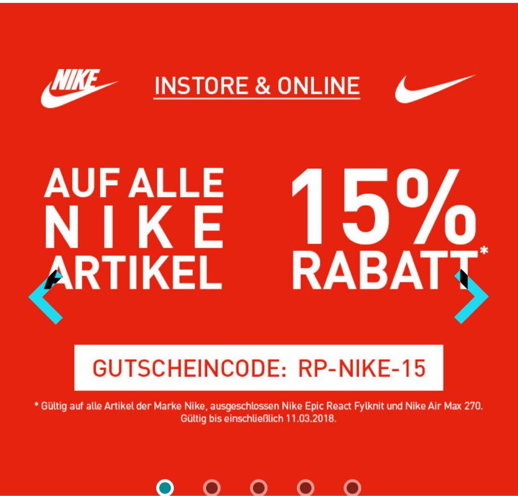 size 40 920d4 4ac6c TIPP Runners Point 15% Rabatt auf fast alle Nike Artikel im Online-Store  MonsterDealz.de