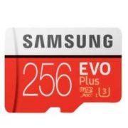 Samsung Evo Plus 256GB microSDXC inkl. SD Adapter für 49€ (statt 58,80€)
