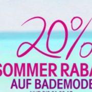 Sommer Sale bei Lascana: Bademoden bis zu 65% reduziert & 20% Extra-Rabatt!