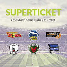 superticket berlin 1 ticket 6 spiele hertha union eisb ren alba f chse br volleys. Black Bedroom Furniture Sets. Home Design Ideas
