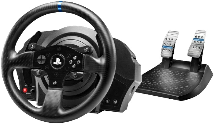 thrustmaster t300 rs lenkrad inkl 2er pedalset ps4 ps3. Black Bedroom Furniture Sets. Home Design Ideas