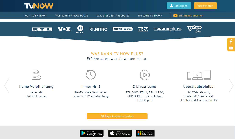 tv now testen