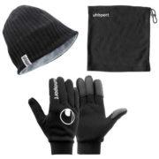 Uhlsport Winterset (Schal, Mütze, Handschuhe) für 23,89 Euro [sportdeal24]