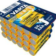 Varta Longlife Batteriebox AAA oder AA (Inhalt: je 24 Stk.) für 5,55€